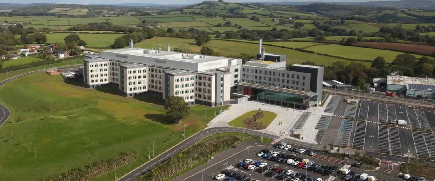 Grange_Hospital_Aerial_Outside