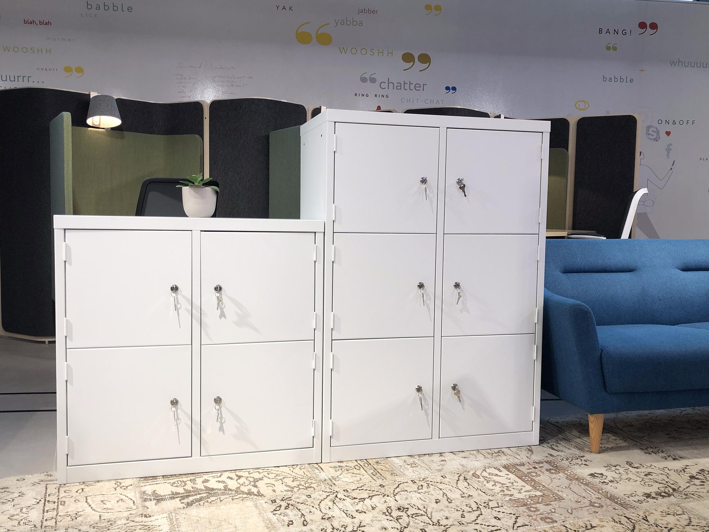 Linear Locker Showroom