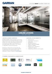 Leisure Locker Specification Image