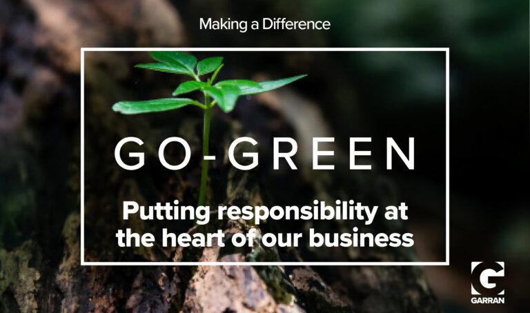 Garran Go Green Sustainability Cover